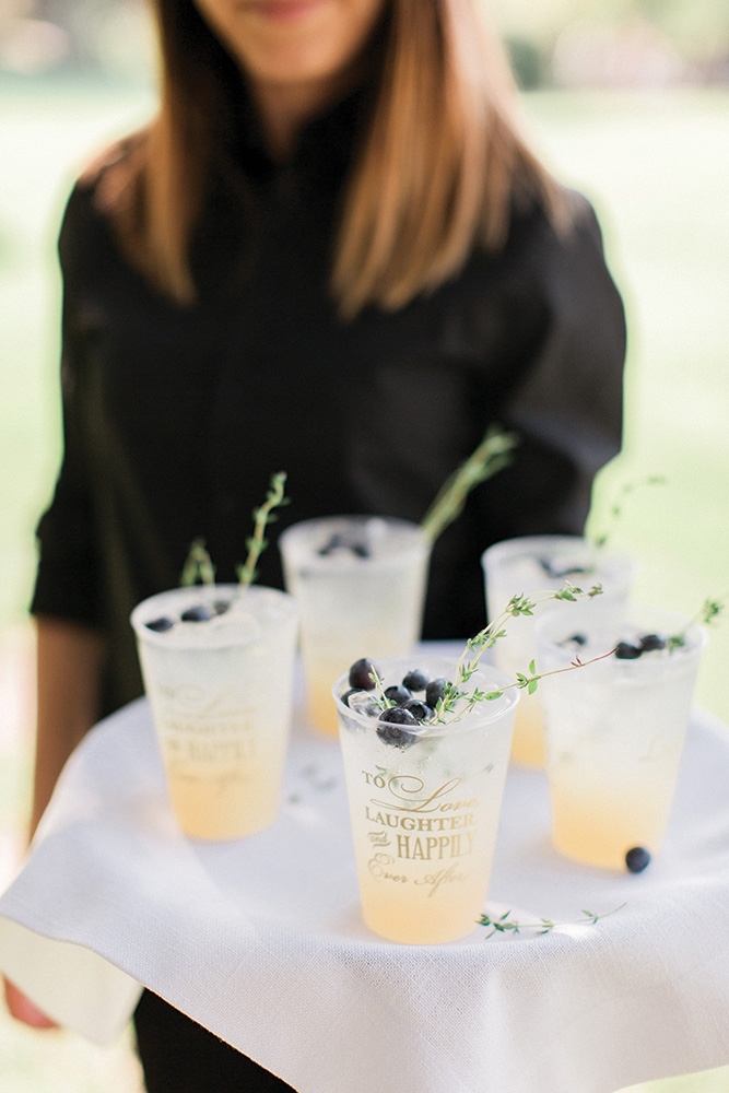 Wedding signature cocktails
