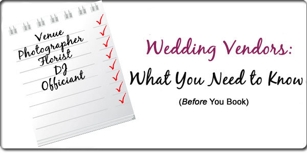 The ultimate guide to wedding vendors bridalguide weve got insider tips on how to find the best pros for your needs dont sign the contract until youre happy with the answers to these critical questions junglespirit Gallery