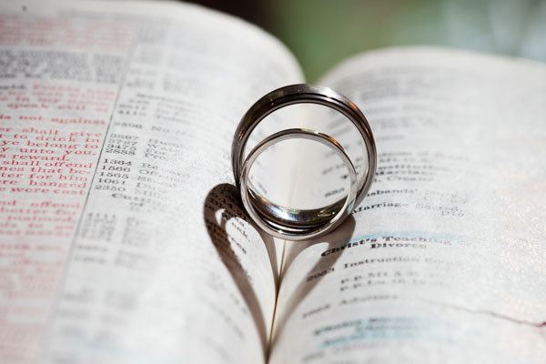 wedding rings in bible