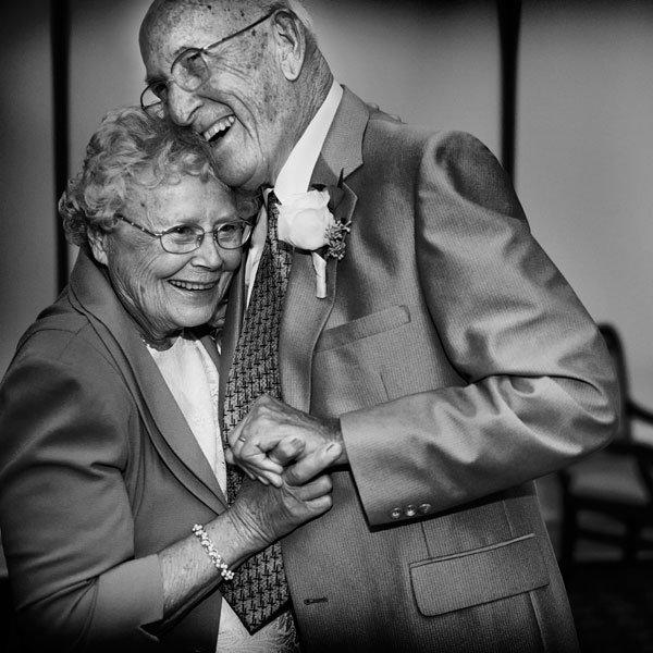 Grandparents wedding dance