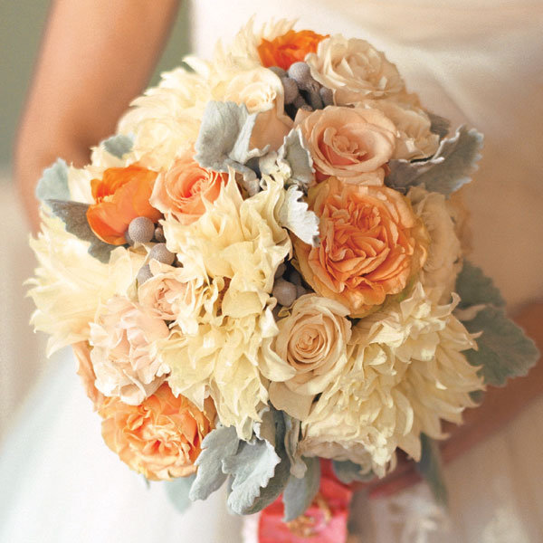 wedding flowers for bridesmaids