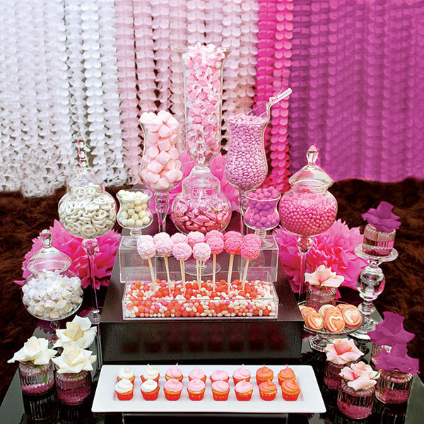 What goes into putting together a creative candy table? A top West Coast event designer shares his confection perfection.