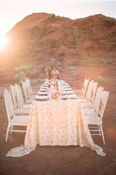 Wedding Inspiration Desert Rose Bridalguide