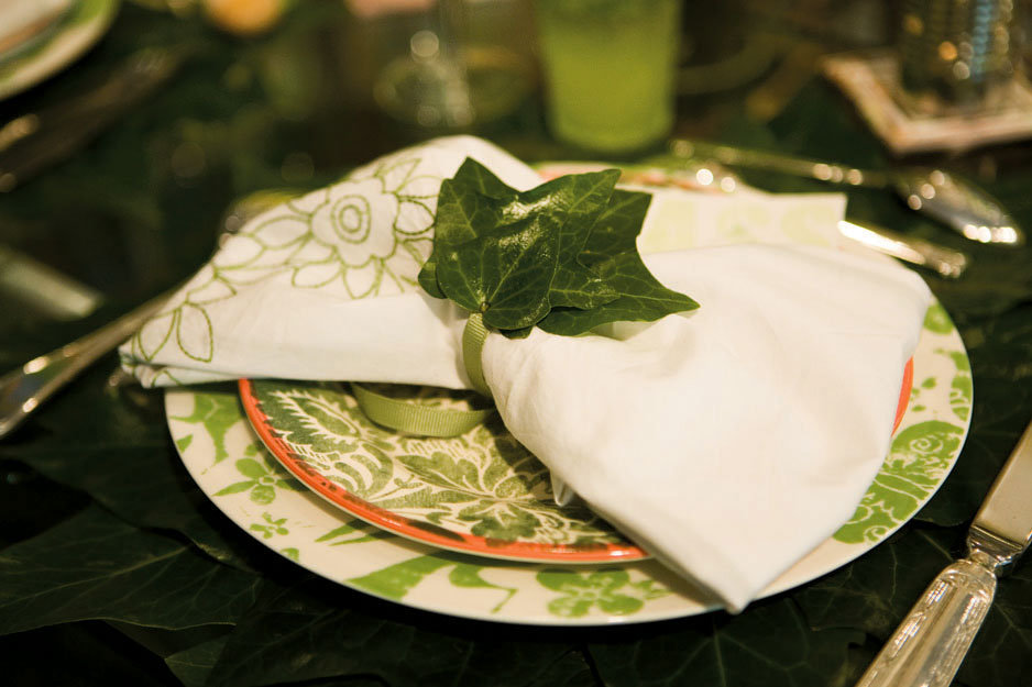 eco friendly wedding ideas A natural theme gets the right look from Linens