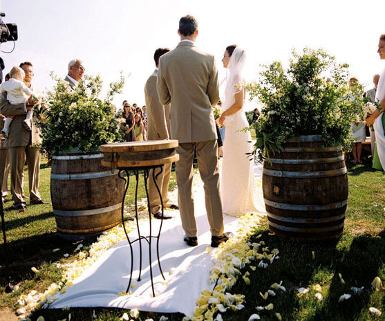 Eco friendly wedding ideas bridalguide Environmentally friendly decorations