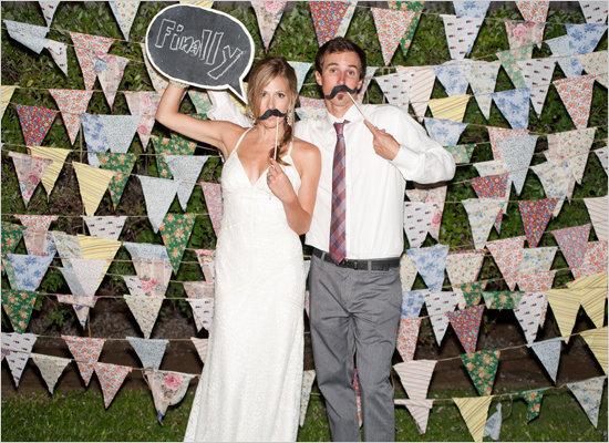 Wedding Reception Photo Booth Ideas: 15 Fun Wedding Reception Ideas