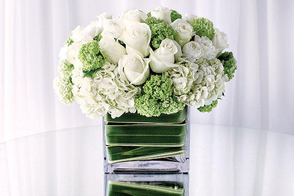 Hot wedding color for spring green bridalguide