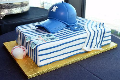40 amazing grooms cakes bridalguide yankees grooms cake junglespirit Gallery