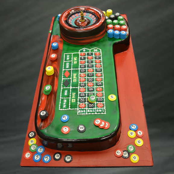 roulette grooms cake