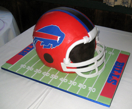 new york giants grooms cake
