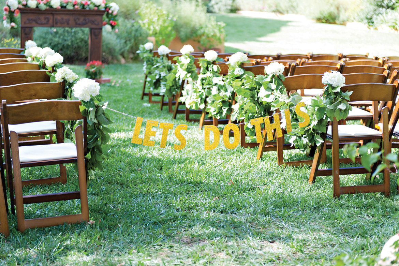 Throw An Intimate Garden Wedding Wedding Shows In The Uk