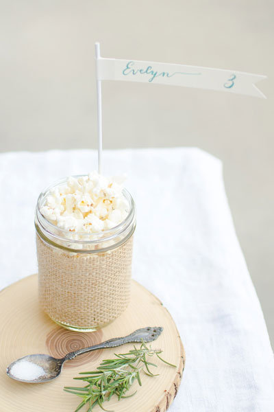diy treat jar escort cards