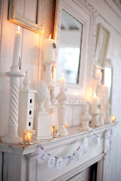 antique chic wedding decor