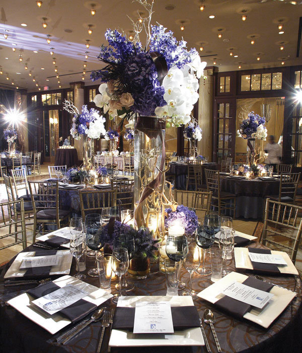 add drama and elegance to tables westin st francis hotel wedding
