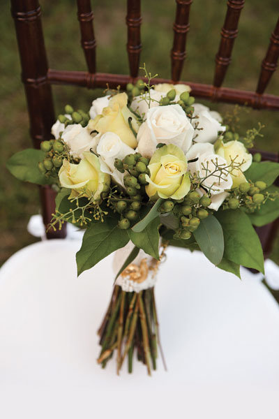 vintage wedding bouquet