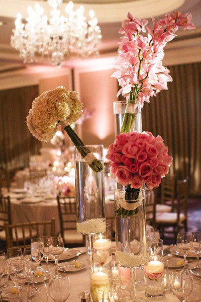 boquet centerpiece