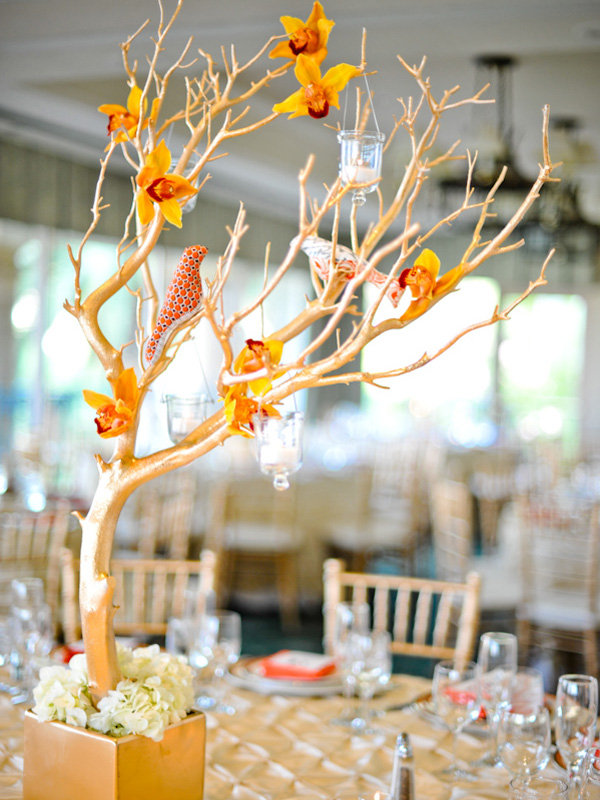 Best Wedding Candle and Flowers Centerpieces Pictures Ideas