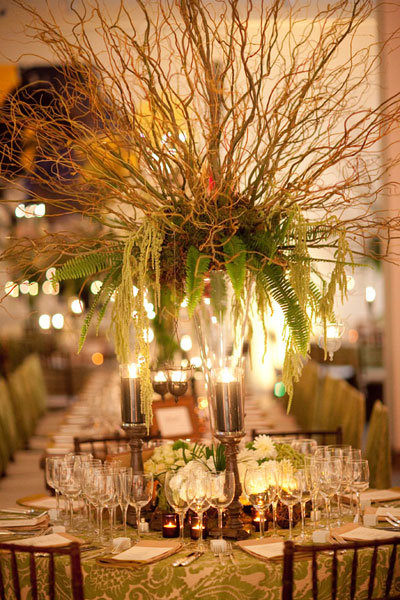 Photo credit stevie ramos photography - 75 Gorgeous Tall Centerpieces Bridalguide