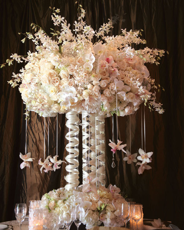 Gorgeous tall centerpieces bridalguide