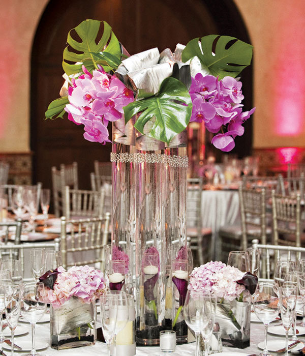 Gorgeous tall centerpieces page bridalguide