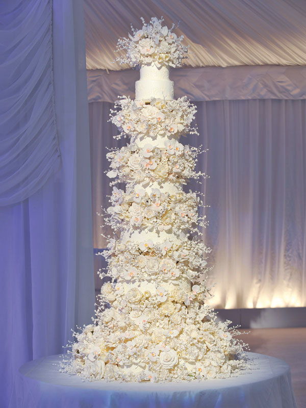 Ivanka Trump Wedding Cake