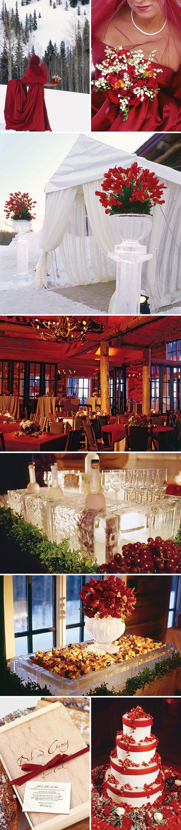 weddings planner winter reception ideas