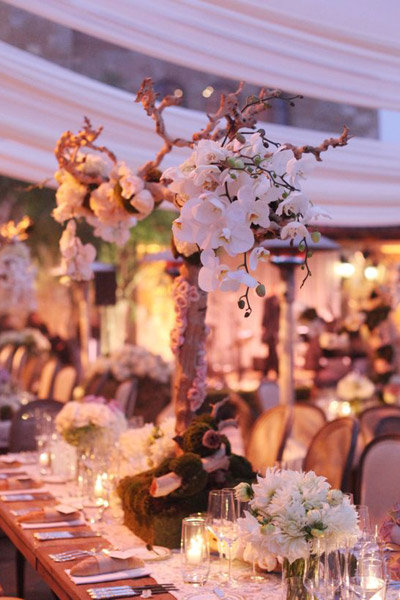 Old Fashioned Table Centerpieces