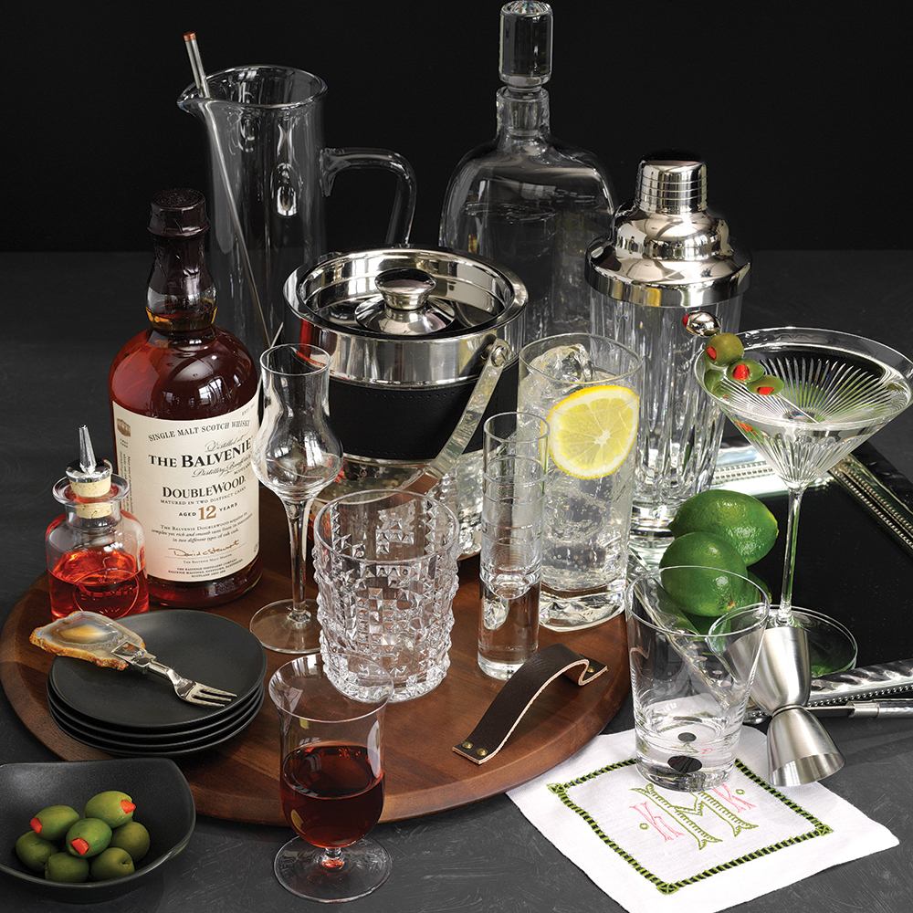 cocktail registry ideas