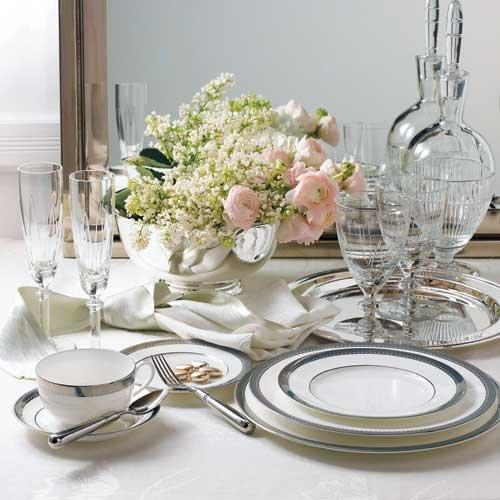 mix match your tableware bridalguide. Black Bedroom Furniture Sets. Home Design Ideas