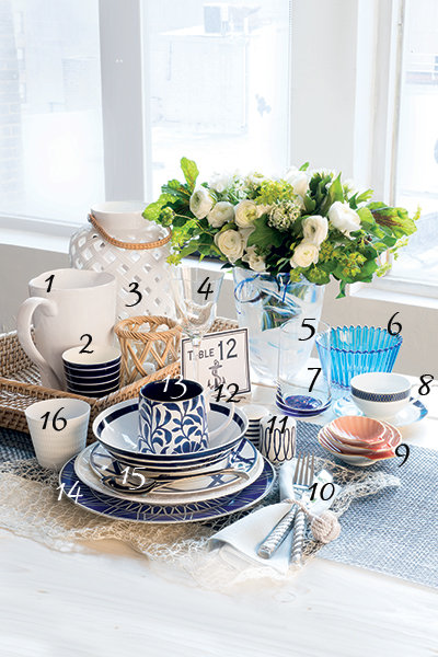 nautical dinnerware