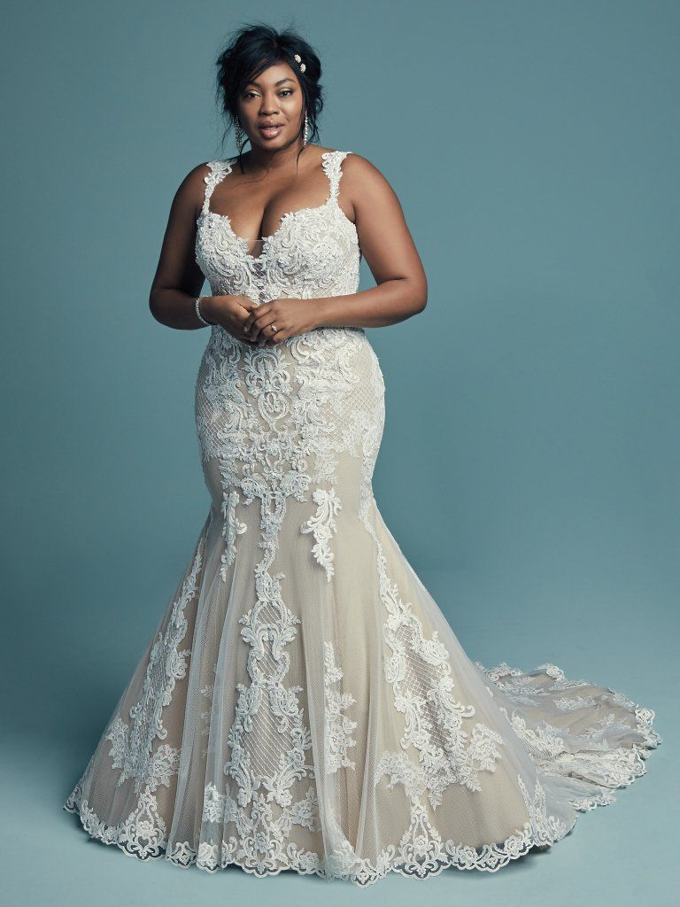 Maggie Sottero Fit-and-Flare