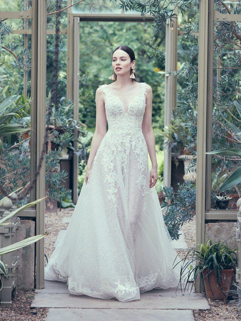 Maggie Sottero A-Line Carmella Gown