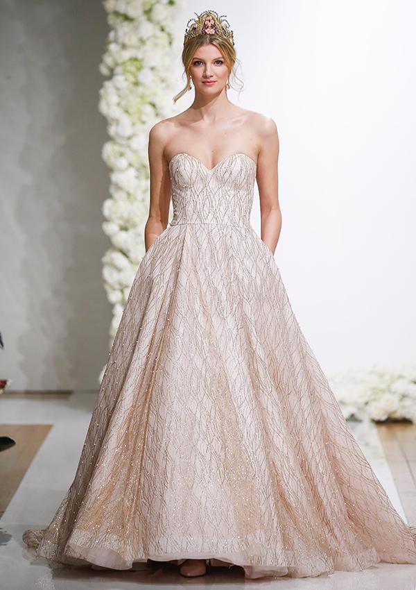 20 Sparkling Wedding Dresses For a Glamorous Bride BridalGuide
