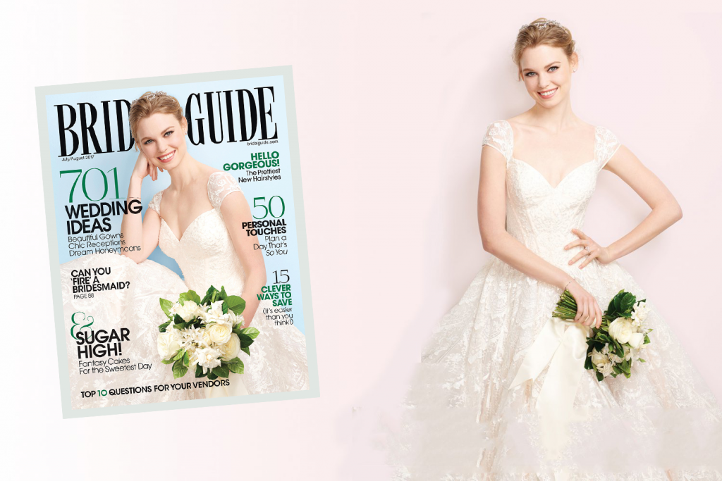 Win Our Oleg Cassini Cover Gown! BridalGuide