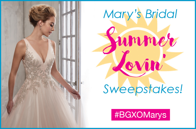 marys bridal instagram sweepstakes