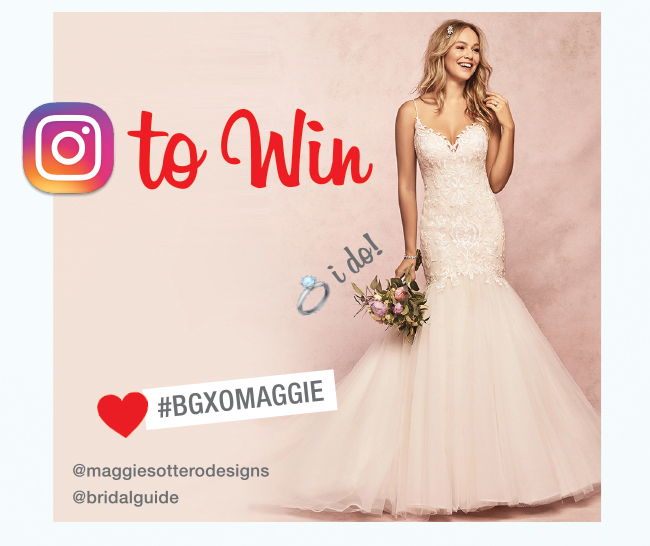 Celebrate Valentine Week with BG and Maggie Sottero Designs