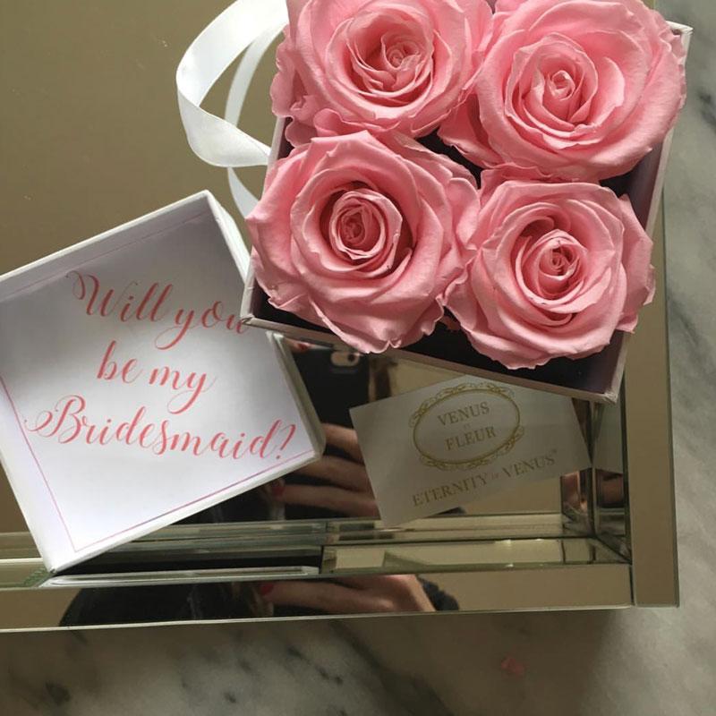 venus et fleur bridesmaid proposal