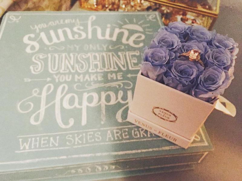 venus et fleur ring box