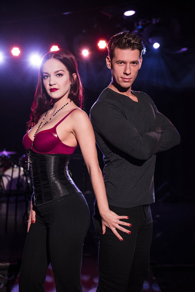 Lauren Zakrin and Constantine Rousouli in Cruel Intentions The Musical Experience