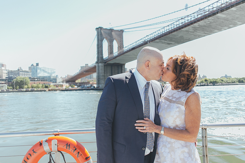 real wedding couple Sheryl and John for Elite Private Yachts