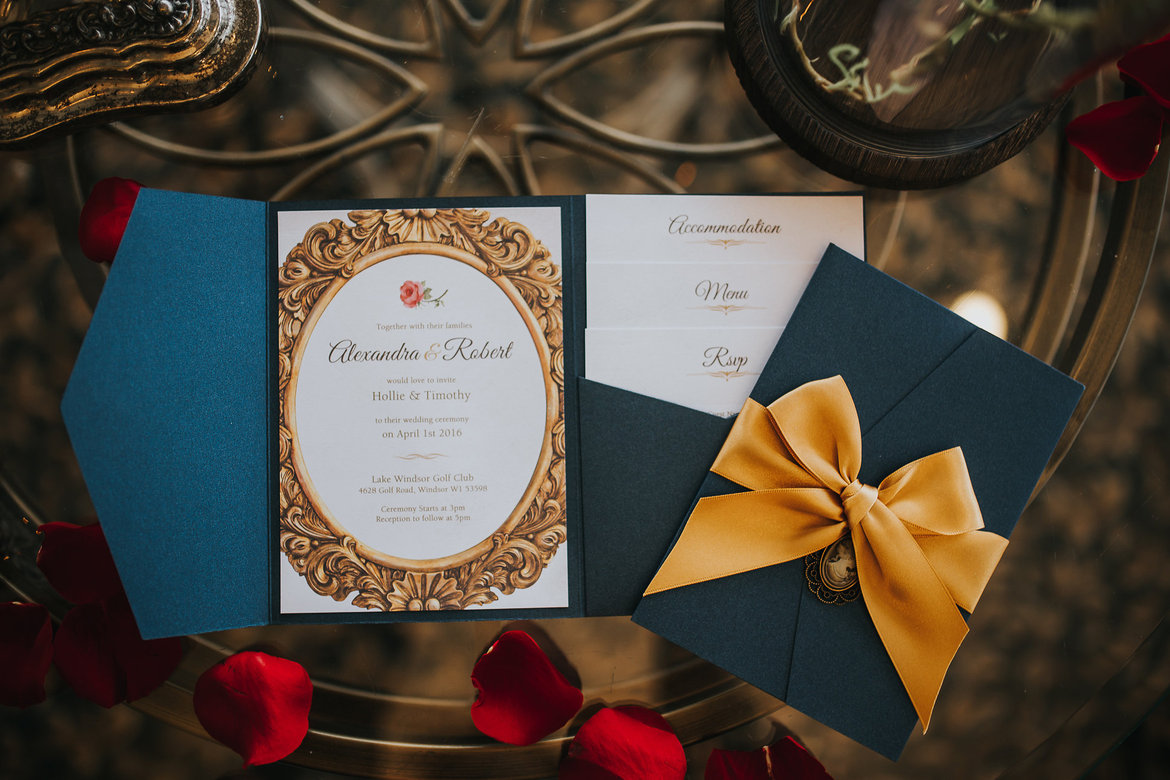 Wedding Inspiration Beauty Amp The Beast Bridalguide