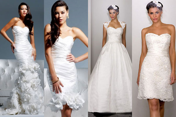 trend we love 2 in 1 wedding gowns bridalguide