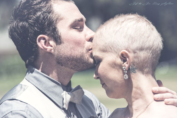 bride with cancer