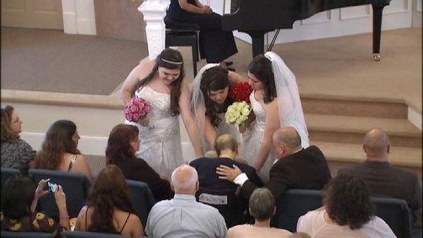 triple wedding