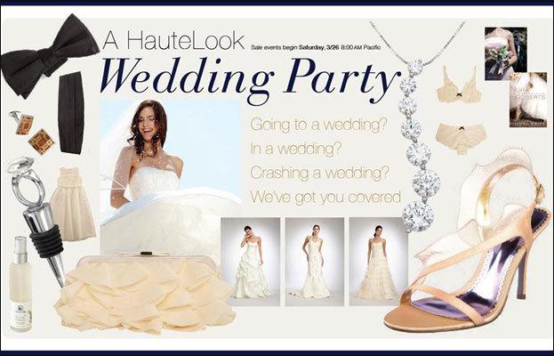 HauteLook Debuts Wedding Party Sample Sale   BridalGuide