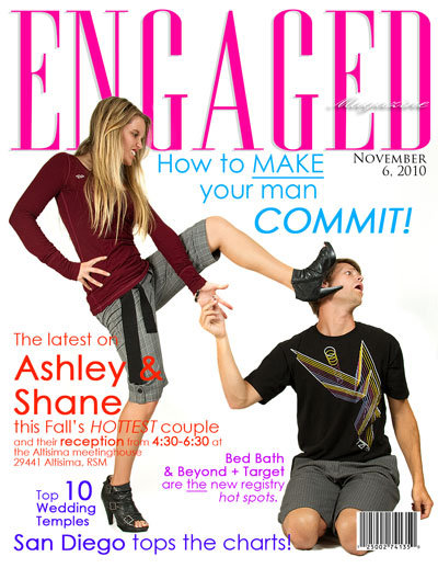 engaged magazine cover