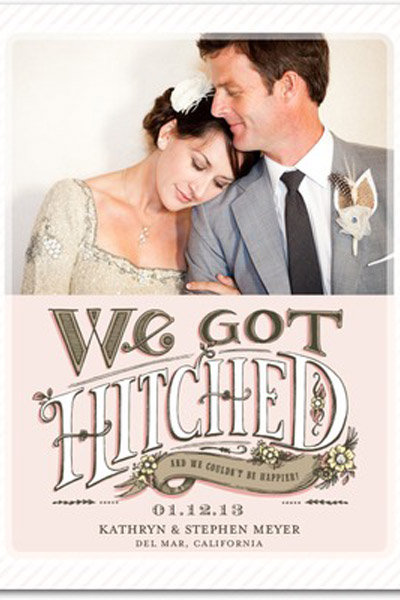 Top 10 Wedding Announcements Bridalguide