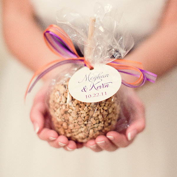 caramel apple favors