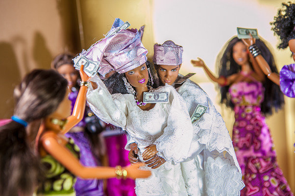 barbie ken nigerian wedding