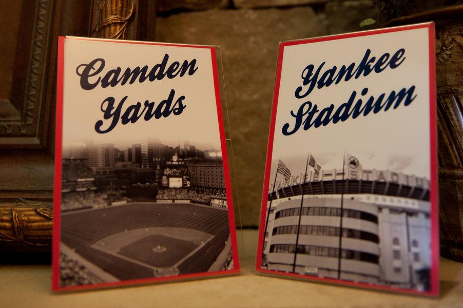 Yankees Vs Orioles A Baseball Themed Wedding BridalGuide
